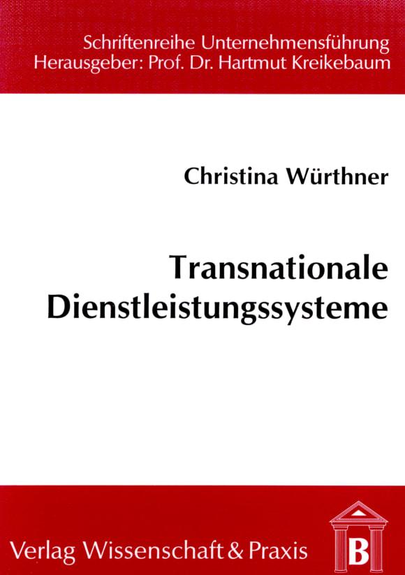 Cover Transnationale Dienstleistungssysteme