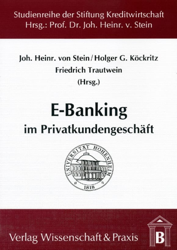 Cover E-Banking im Privatkundengeschäft
