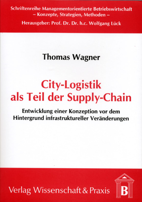 Cover City-Logistik als Teil der Supply-Chain