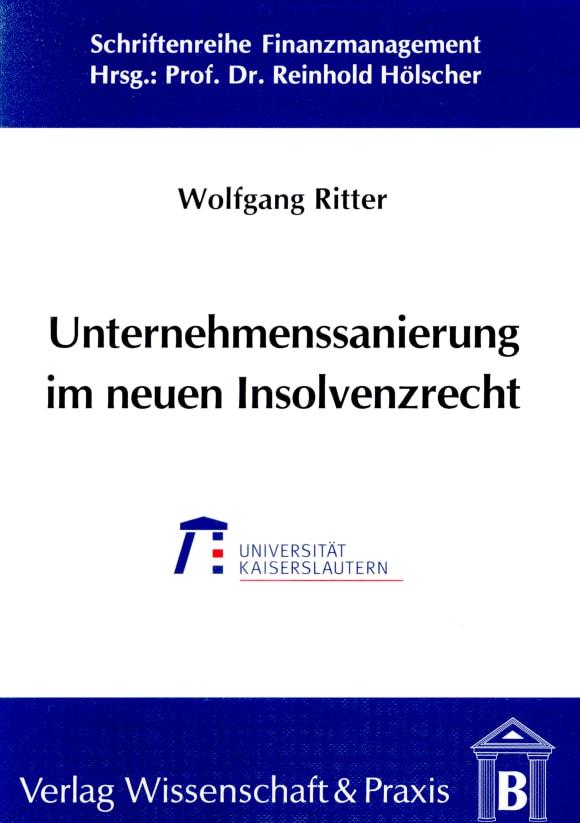 Cover Unternehmenssanierung im neuen Insolvenzrecht