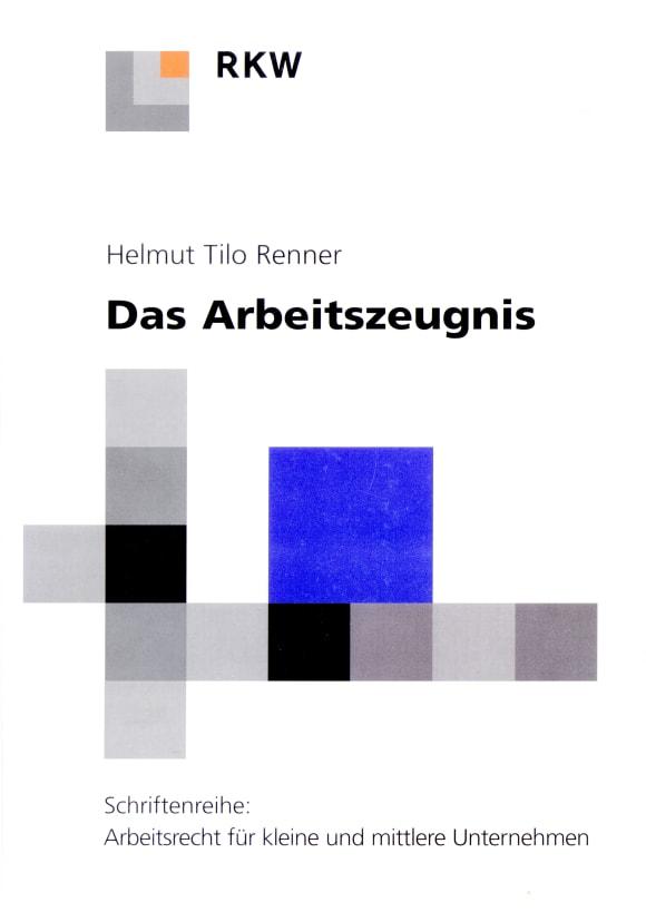 Cover Das Arbeitszeugnis