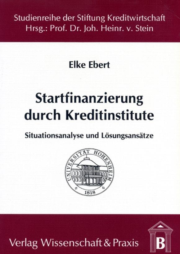 Cover Startfinanzierung durch Kreditinstitute