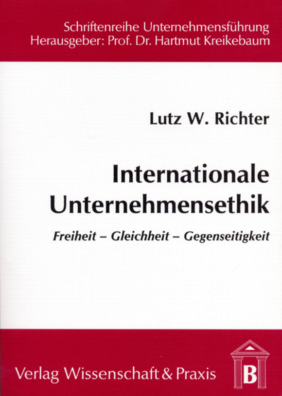 Cover Internationale Unternehmensethik