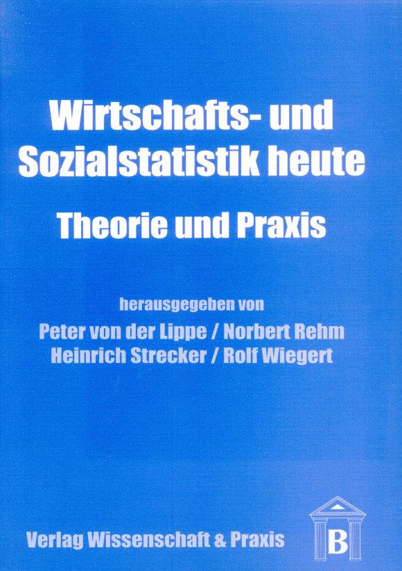Cover Wirtschafts- und Sozialstatistik heute