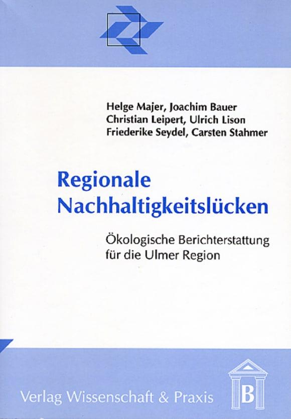Cover Regionale Nachhaltigkeitslücken