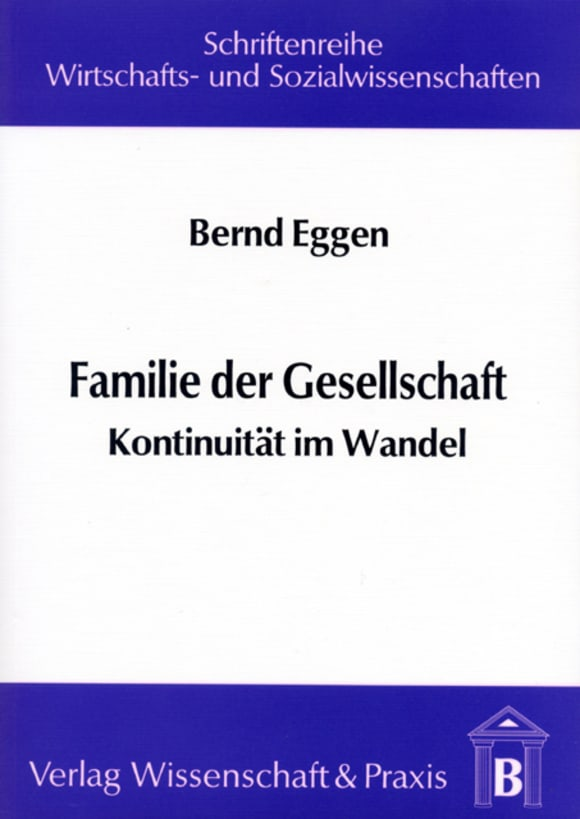 Cover Familie der Gesellschaft