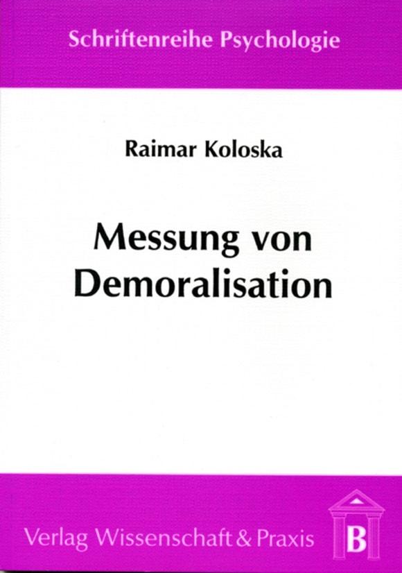 Cover Schriftenreihe Psychologie (SP)