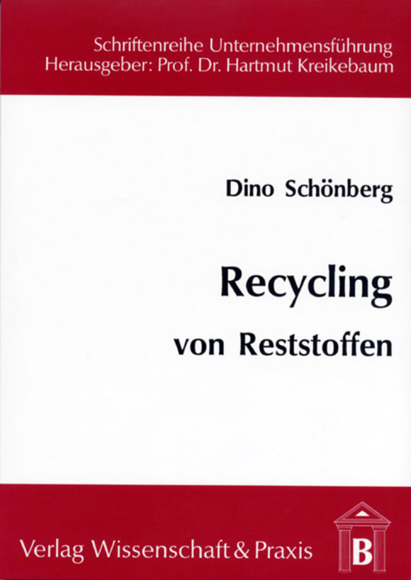 Cover Recycling von Reststoffen