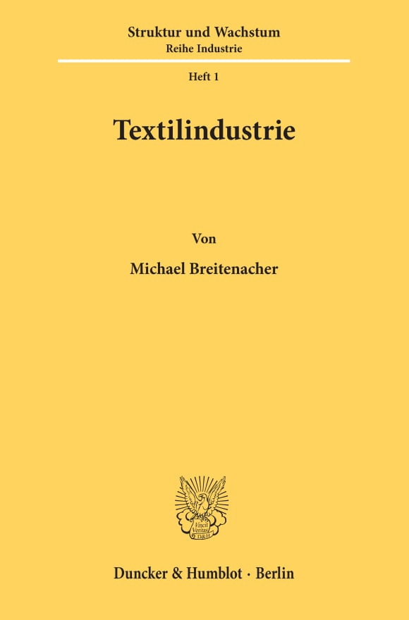 Cover Textilindustrie