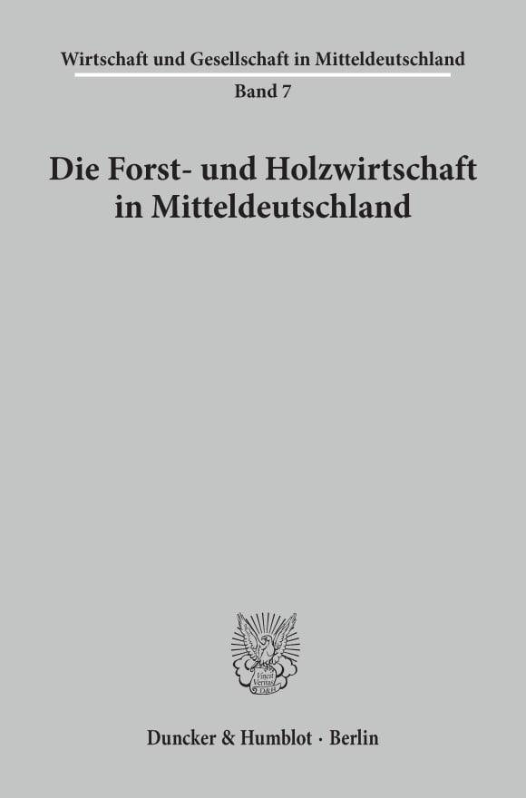 Cover Wirtschaft und Gesellschaft in Mitteldeutschland (WGM)