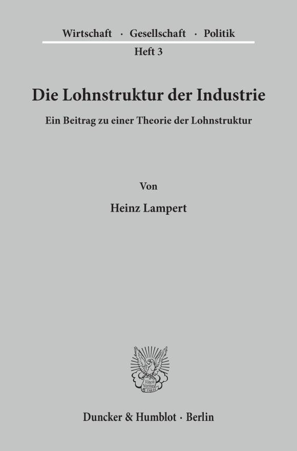 Cover Wirtschaft, Gesellschaft, Politik (WGP)