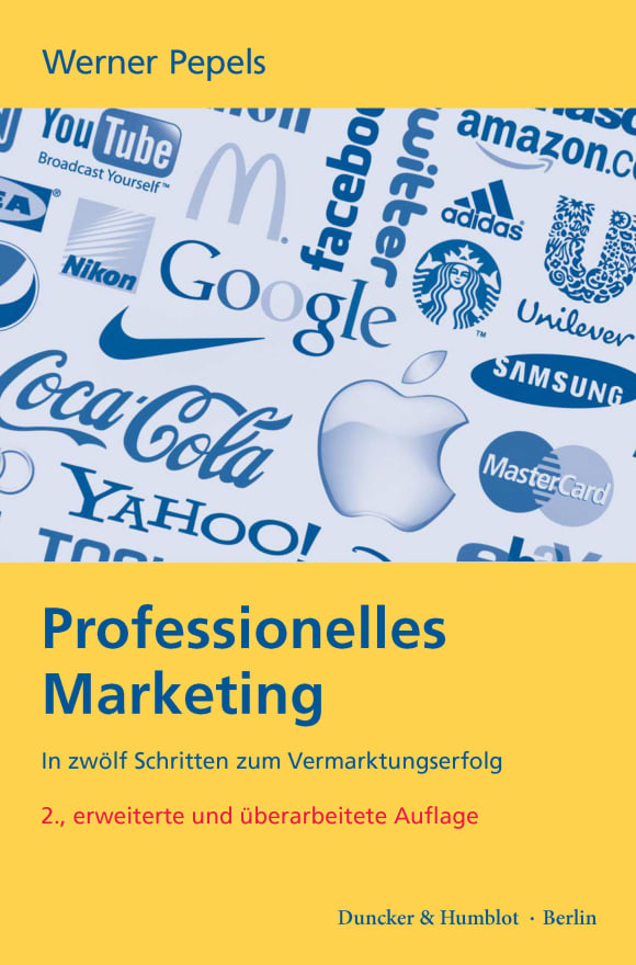 Cover Professionelles Marketing
