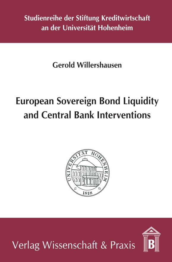 Cover European Sovereign Bond Liquidity and Central Bank Interventions
