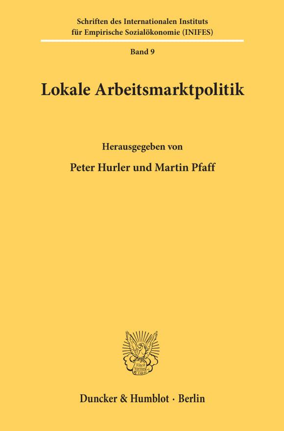 Cover Lokale Arbeitsmarktpolitik