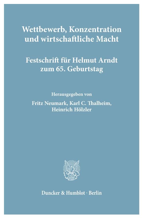 Cover Wettbewerb, Konzentration und wirtschaftliche Macht