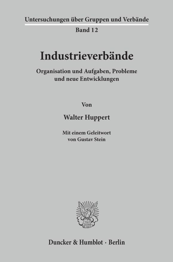 Cover Industrieverbände