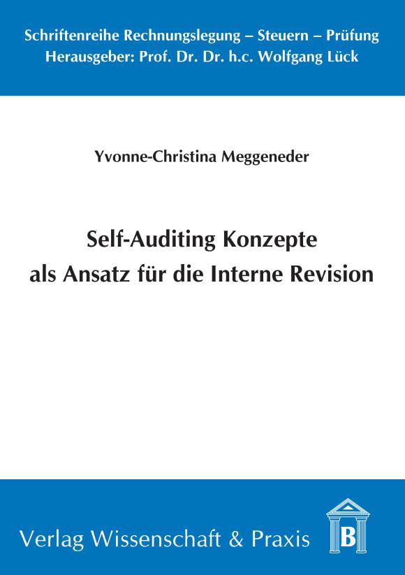 Cover Self-Auditing Konzepte als Ansatz für die Interne Revision