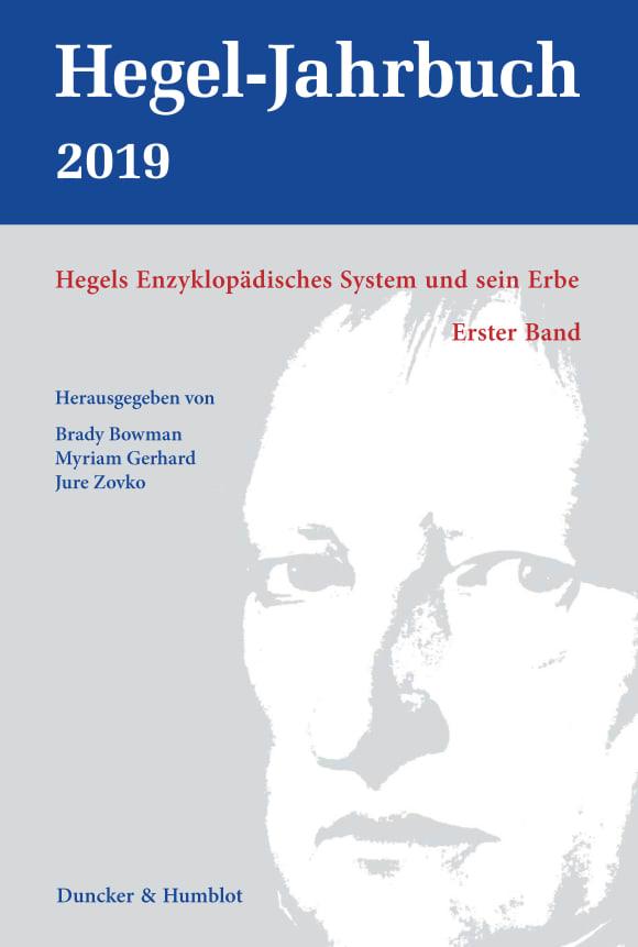 Cover Hegels Enzyklopädisches System und sein Erbe (HGJB 1/2019)