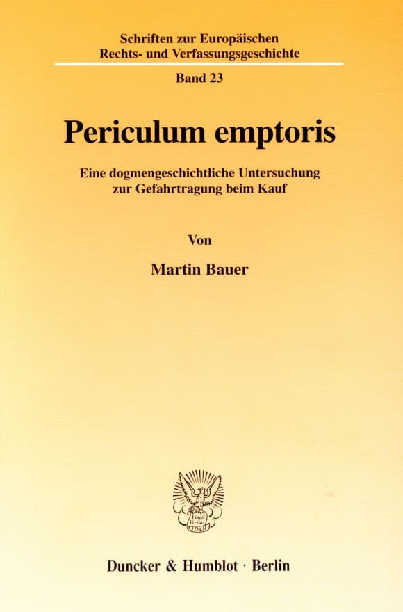 Cover Periculum emptoris