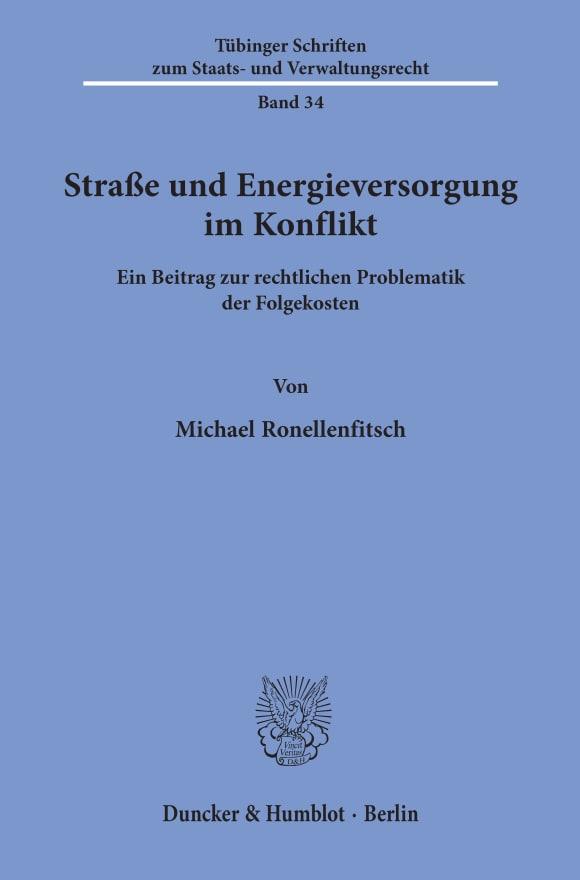 Cover Straße und Energieversorgung im Konflikt