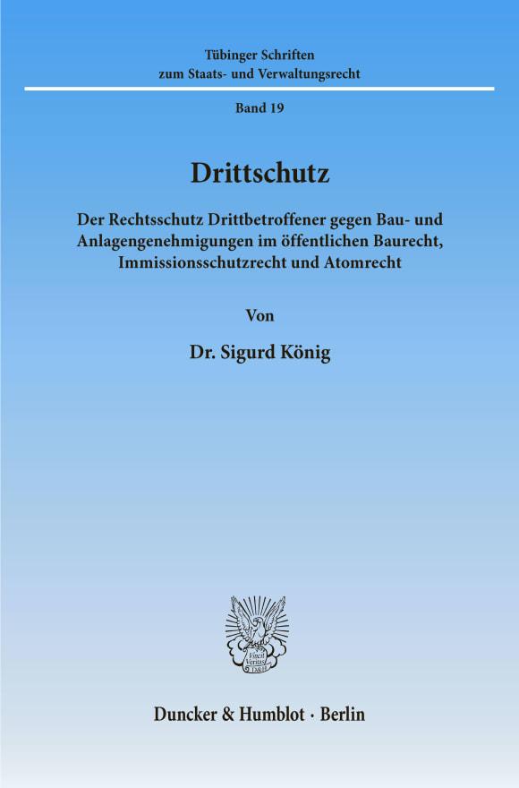 Cover Drittschutz