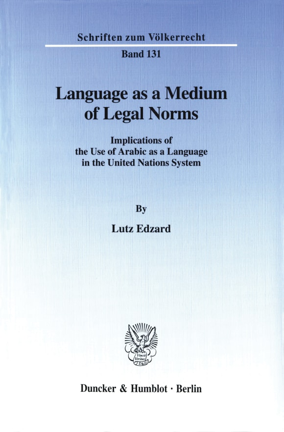 Cover Language as a Medium of Legal Norms