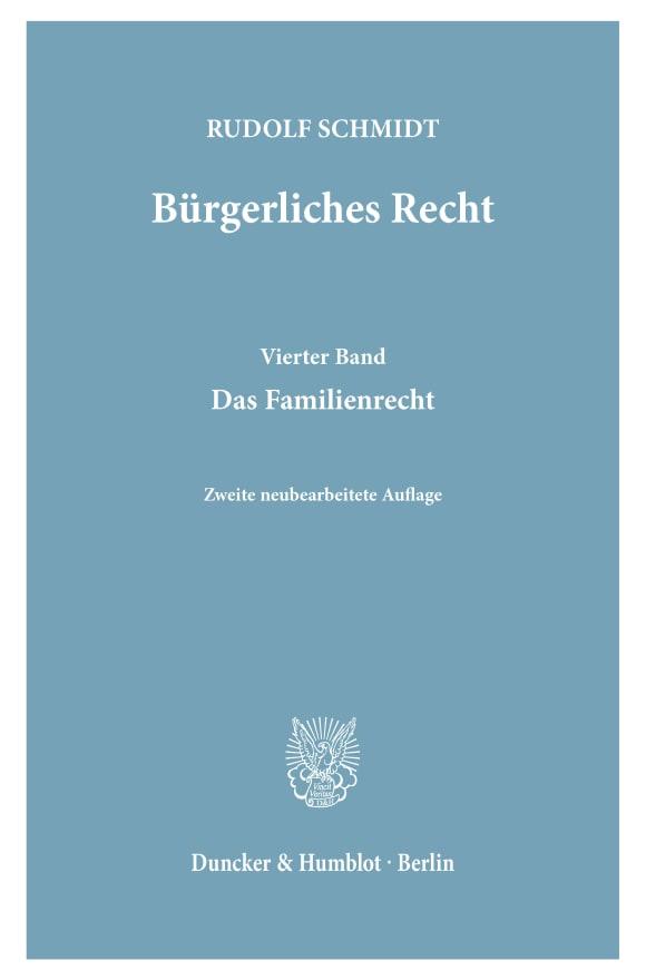 Cover Bürgerliches Recht
