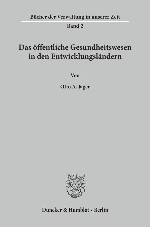 Cover Bücher der Verwaltung in unserer Zeit (BDV)