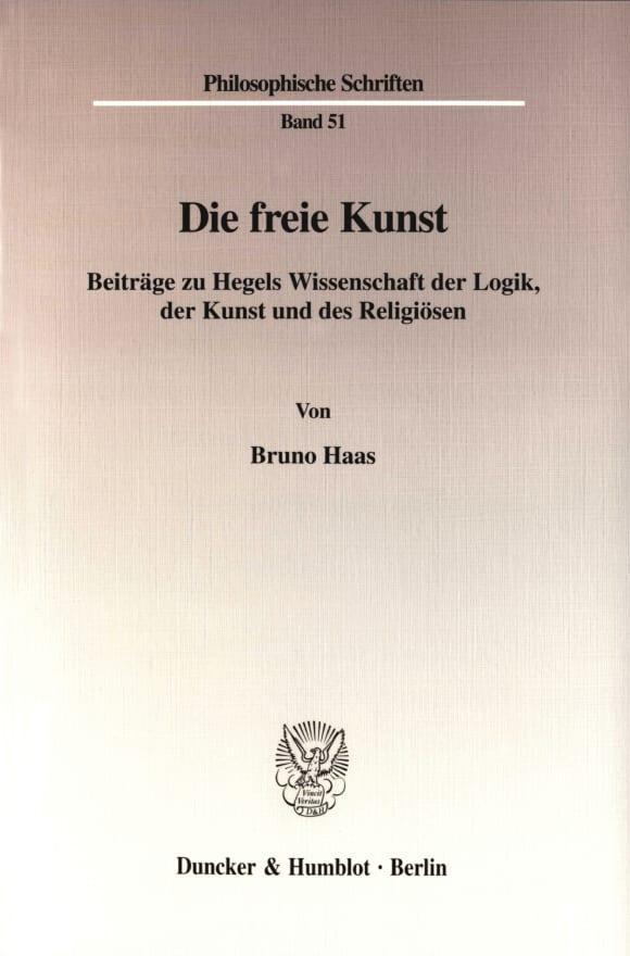 Cover Die freie Kunst