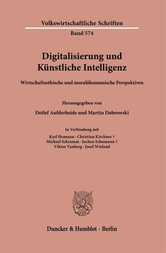 Cover Digitalisierung und Künstliche Intelligenz