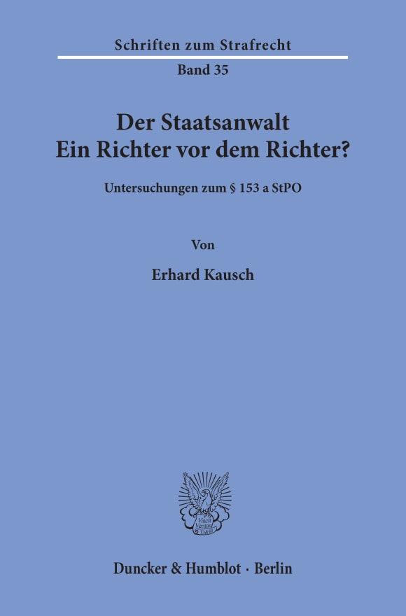 Cover Der Staatsanwalt