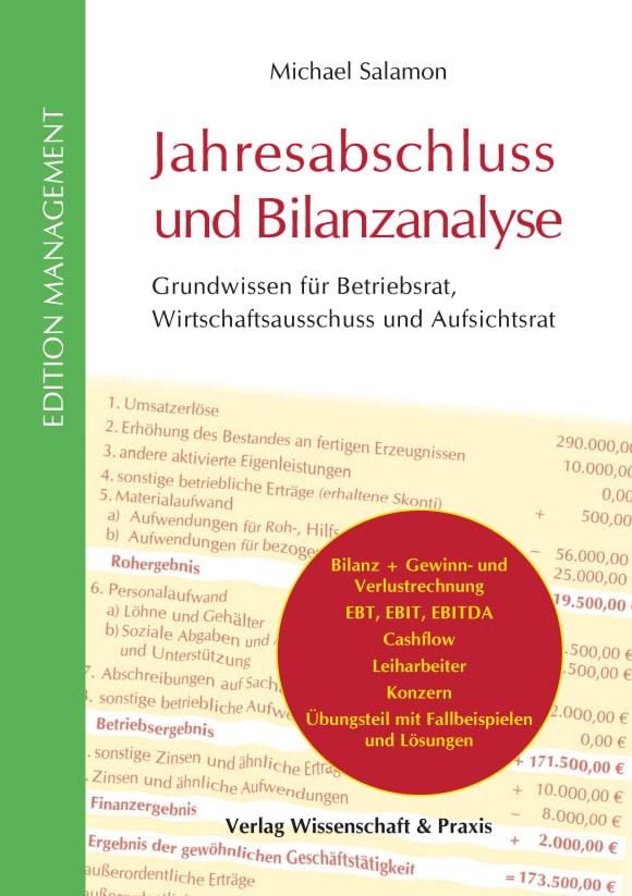 Cover Jahresabschluss und Bilanzanalyse