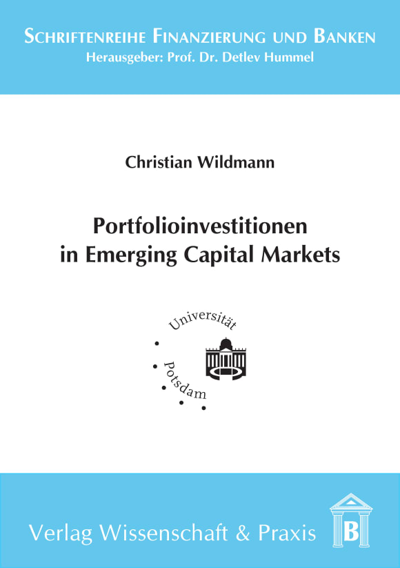 Cover Portfolioinvestitionen in Emerging Capital Markets