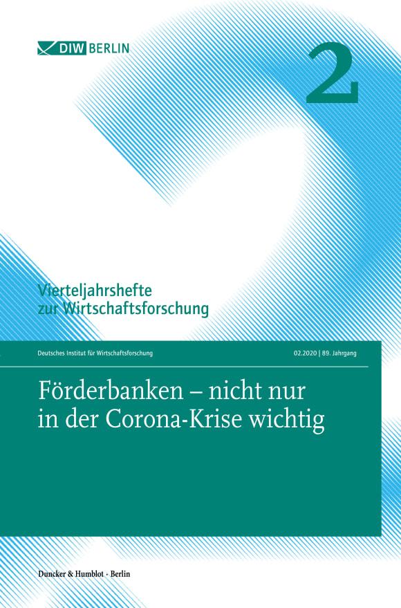 Cover Förderbanken – nicht nur in der Corona-Krise wichtig (VJH 2/2020)