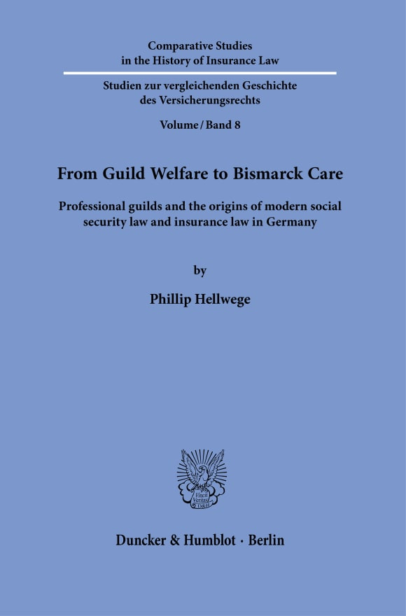 Cover From Guild Welfare to Bismarck Care