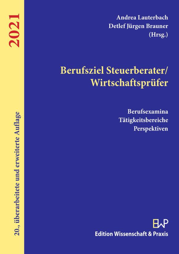 Cover Berufsziel Steuerberater/Wirtschaftsprüfer