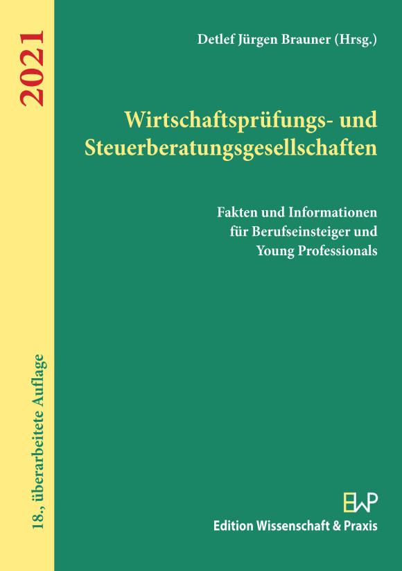 Cover Wirtschaftsprüfungs- und Steuerberatungsgesellschaften 2021