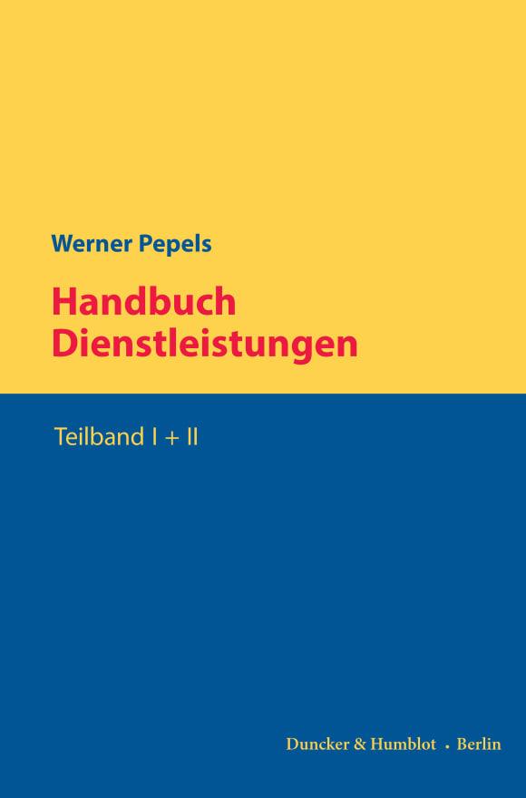 Cover Handbuch Dienstleistungen