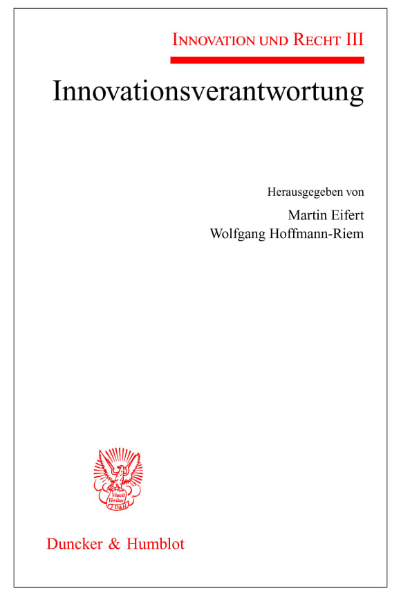 Cover Innovationsverantwortung