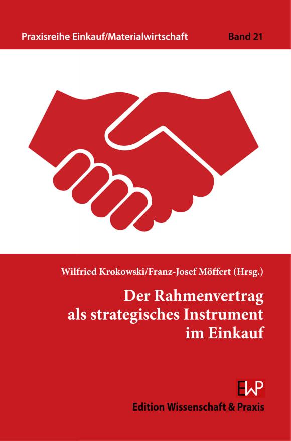 Cover Der Rahmenvertrag als strategisches Instrument im Einkauf