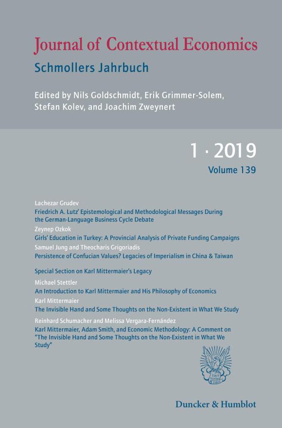 Cover JCE 1/2019