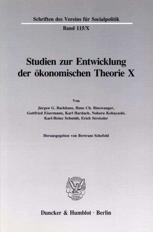Cover Friedrich List: Voraussetzungen und Folgen