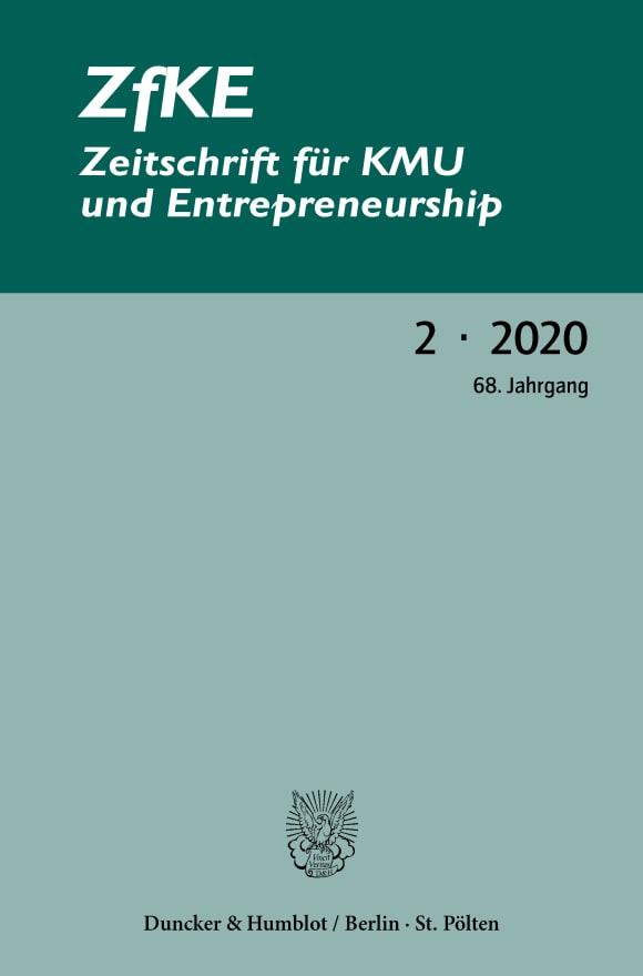 Cover ZfKE 2/2020