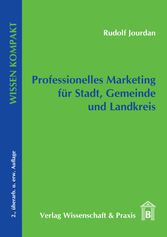 Cover Professionelles Marketing für Stadt, Gemeinde und Landkreis