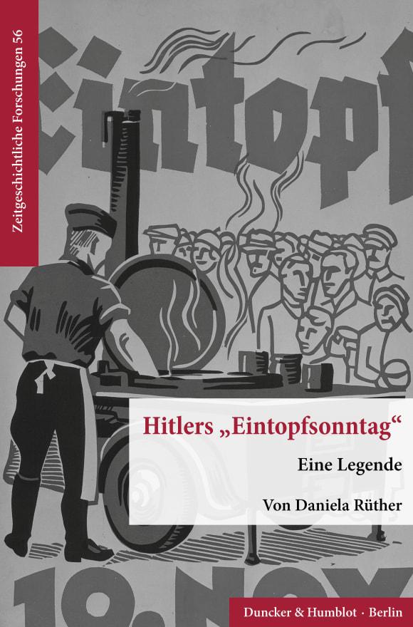 Cover Hitlers »Eintopfsonntag«