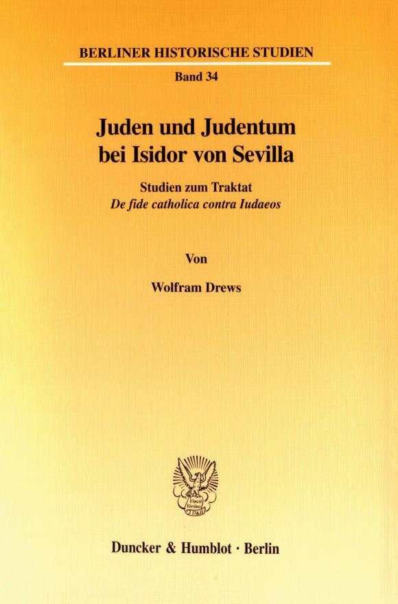 Cover Juden und Judentum bei Isidor von Sevilla