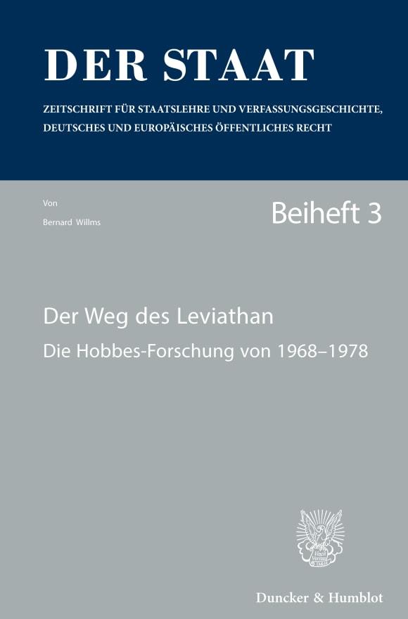 Cover Der Weg des Leviathan