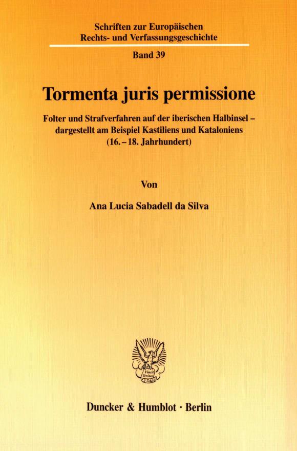 Cover Tormenta juris permissione