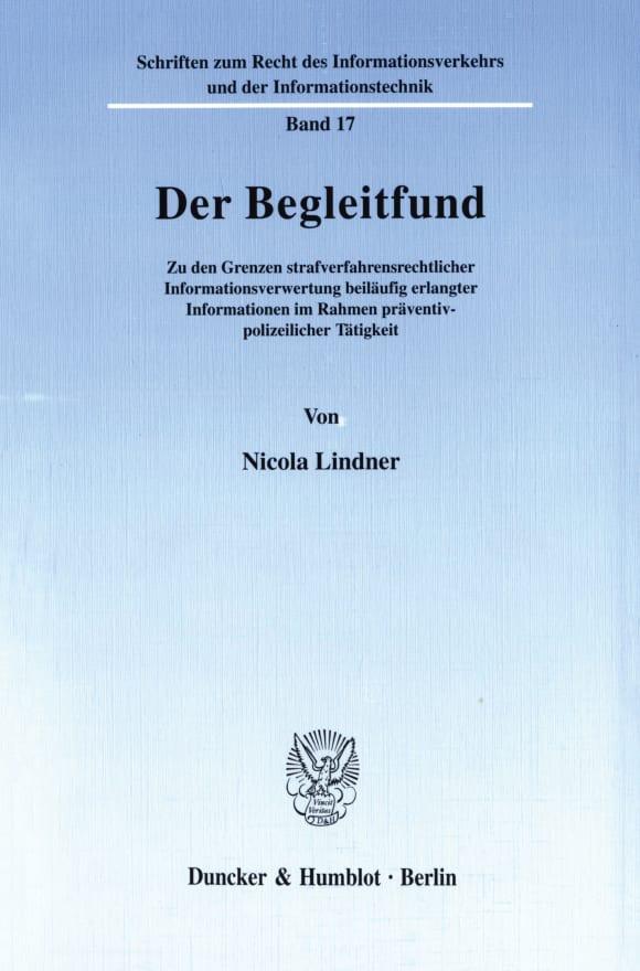 Cover Der Begleitfund