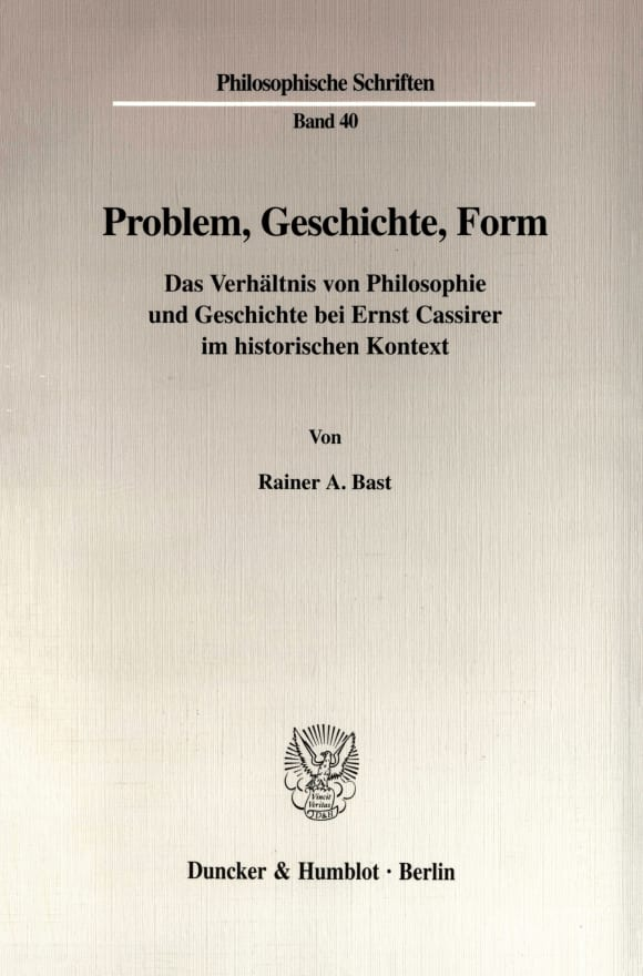 Cover Problem, Geschichte, Form
